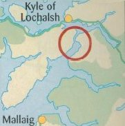 walk location in relation to Kyle of Lochalsh