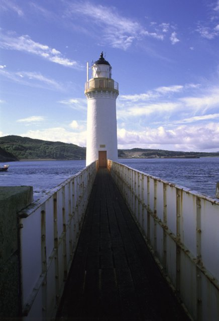 Lighthouse and Walkway