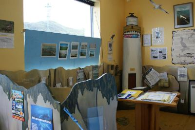 Bright Water Visitor Centre interactive exhibition